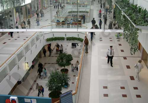 Breahead shopping centre floor