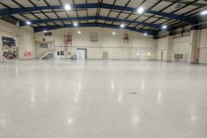 Factory Terrazzo Floor Refurbishment Tiling Grinding