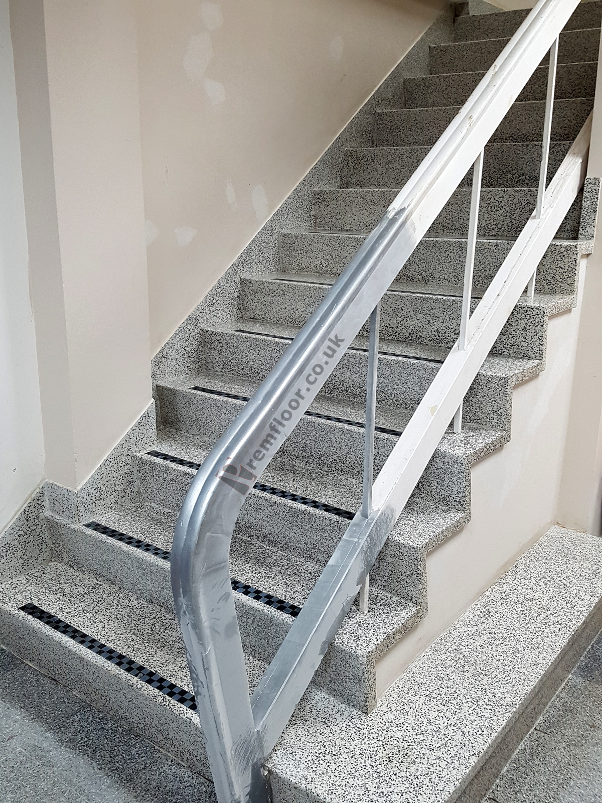 Merveilleux ... Flight Of Terrazzo Stairs Freshly Cleaned And Sealed