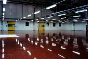 Industrial resin terrazzo projects
