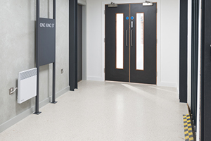 Resin Terrazzo installation into a Manchester Office