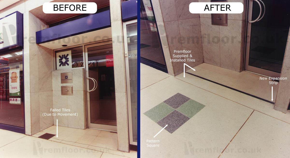 Runcorn Shopping Centre Terrazzo Refurbishment